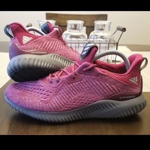 Adidas Alpha Bounce Size 9.5 Pink Black